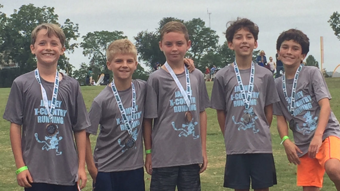 Janney Cross Country Boys Team