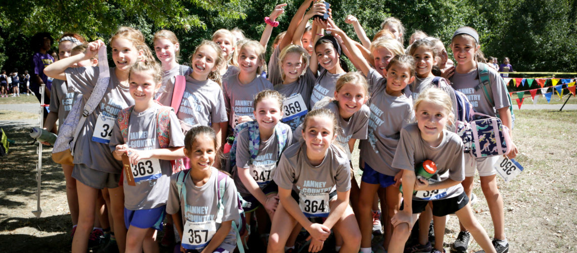 Janney Cross Country Girls Team